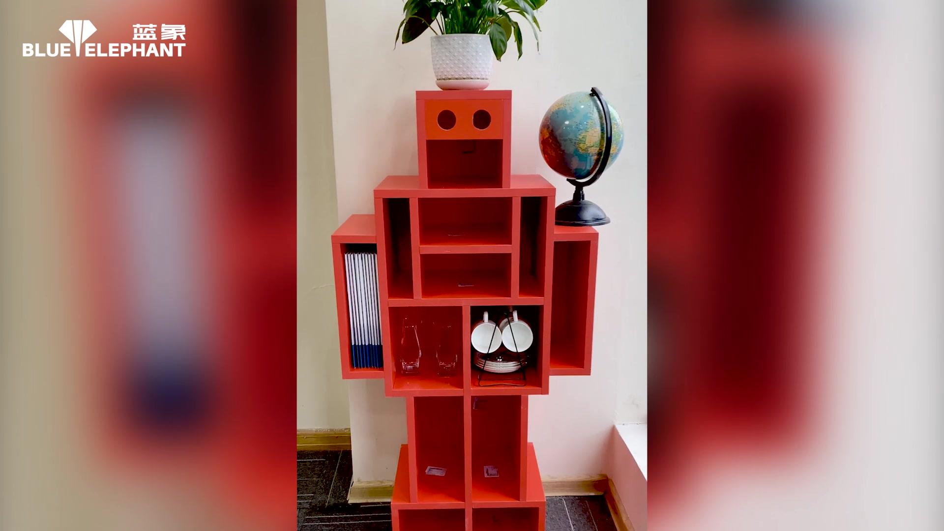 拉米诺开料机加工机器人视频演示